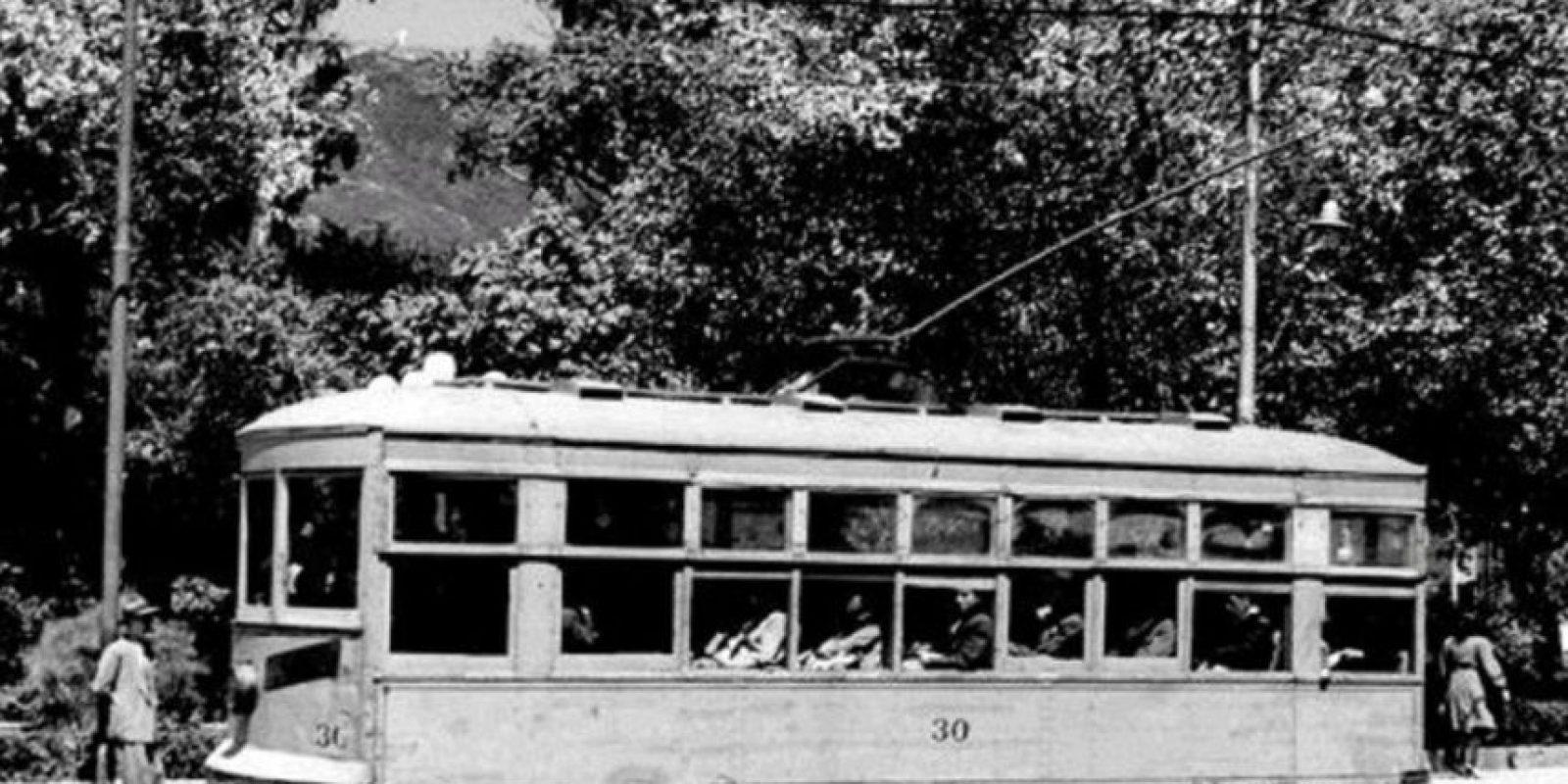 El último tranvía de Bogotá dejó de circular en 1951. Foto:Facebook / Fotos Antiguas de Bogotá