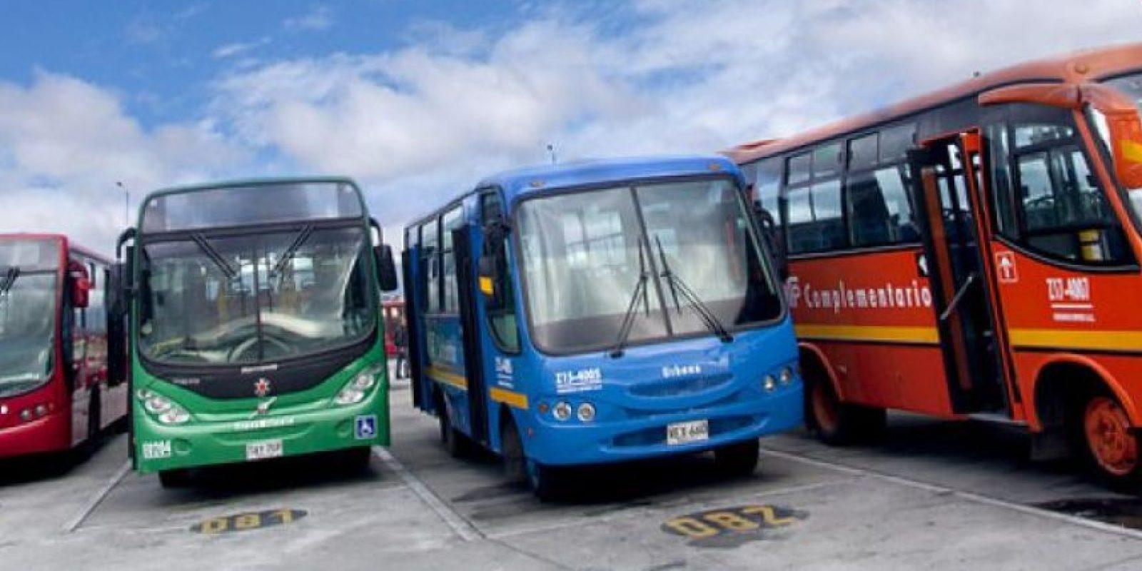 Esta es la flota de buses que entraron a reemplazar, en su totalidad, al transporte público tradicional en Bogotá desde el pasado 1 de junio. Foto:Archivo Publimetro.