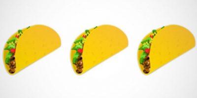 Taco – Uno de los platillos más emblemáticos de México. Foto:emojipedia.org