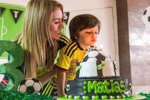 Natalia Castillo y su hijo Matías Foto:Instagram
