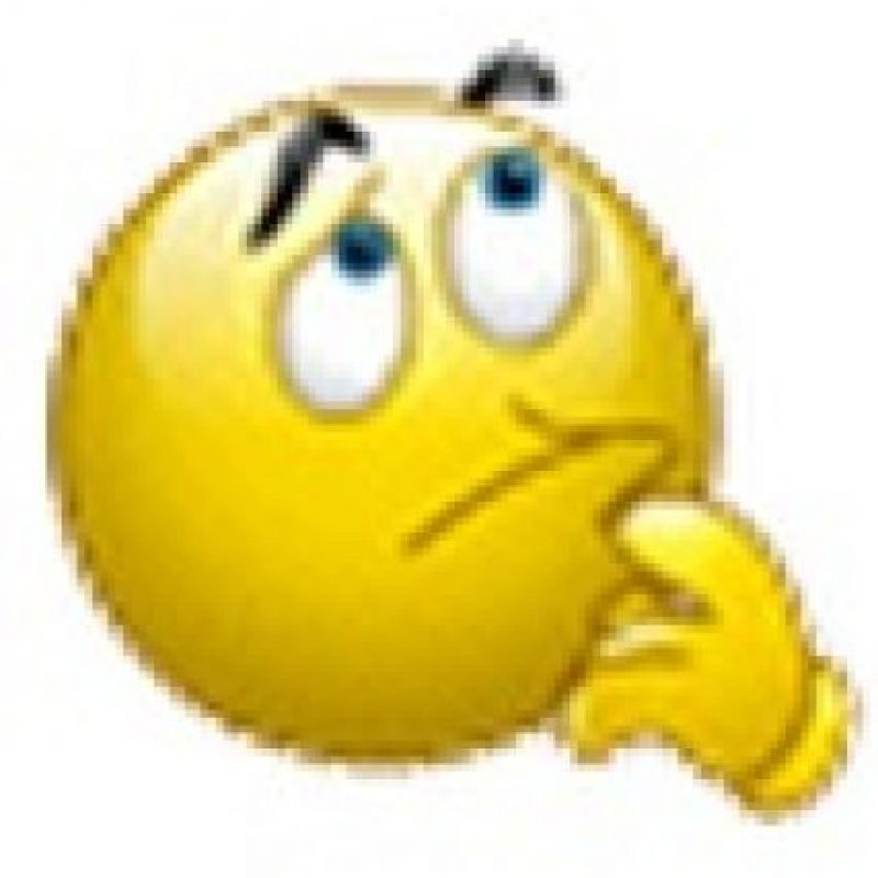 Rostro pensativo. Foto:emojipedia.org