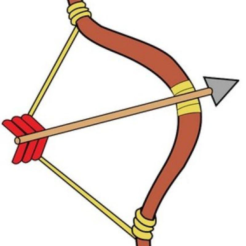Arco y flecha. Foto:emojipedia.org