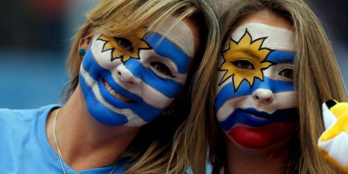 Clásica belleza de uruguayas y argentinas en la Copa América