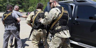 El felino murió en el momento que atacó a un oficial. Foto:AP