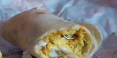 Gancho en un burrito. Foto:EpicFail