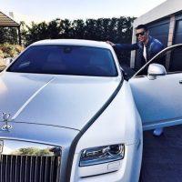 El crack del Real Madrid tiene una lujosa colección de autos exclusivos. Foto:Vía instagram.com/Cristiano