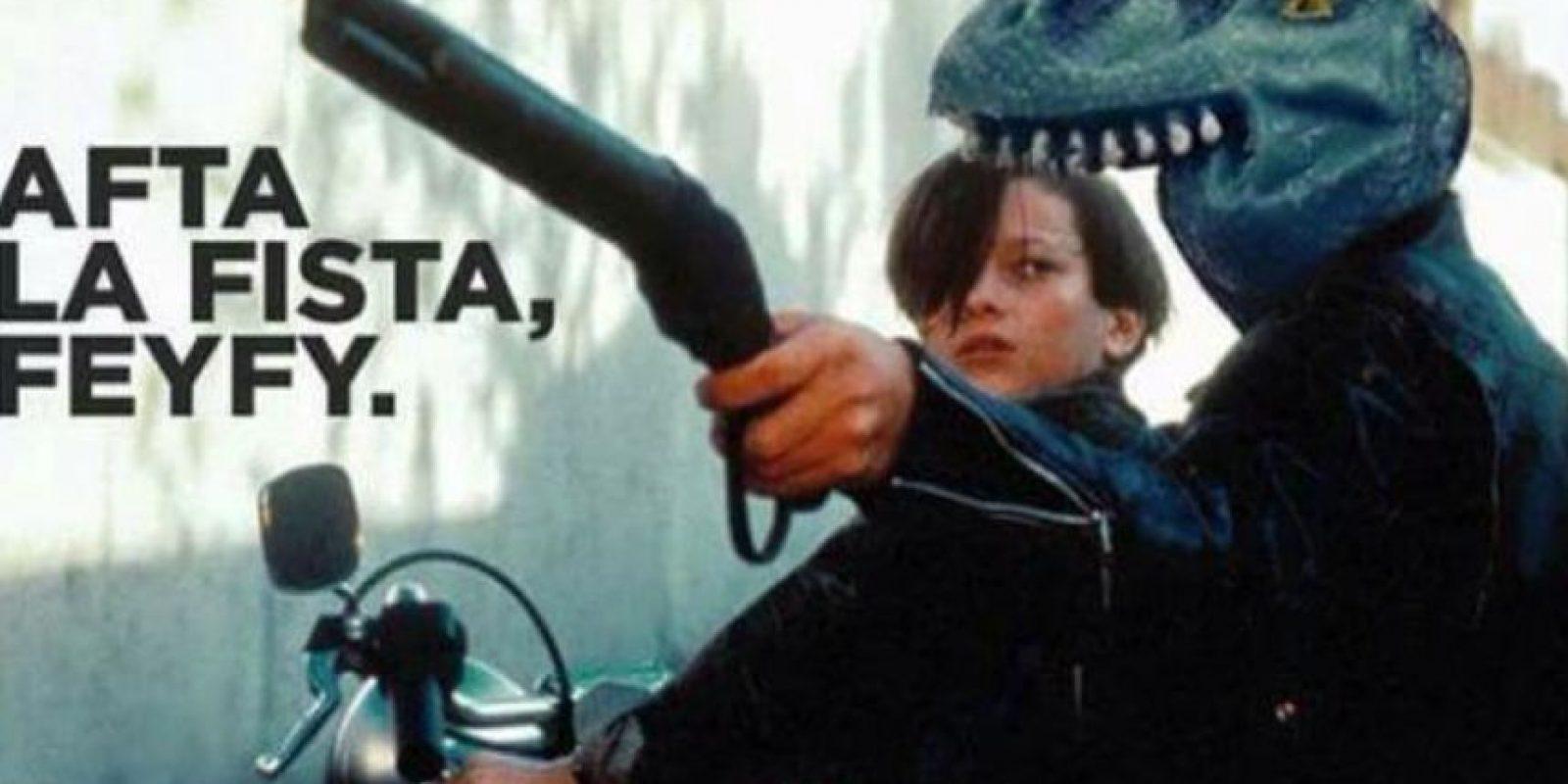 """Y ya es """"protagonista"""" de varias películas. Foto:vía Twitter/ @firanofaurio"""