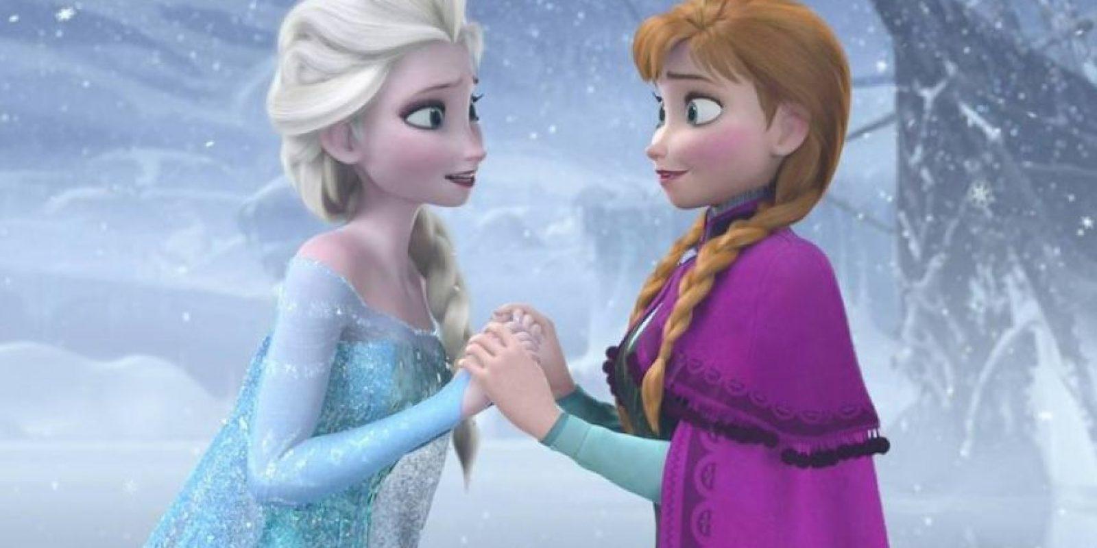 """A diferencia de otras películas infantiles, """"Frozen"""" tiene muy pocas escenas que podrían asustar a los pequeños. Foto:vía facebook.com/DisneyFrozen"""