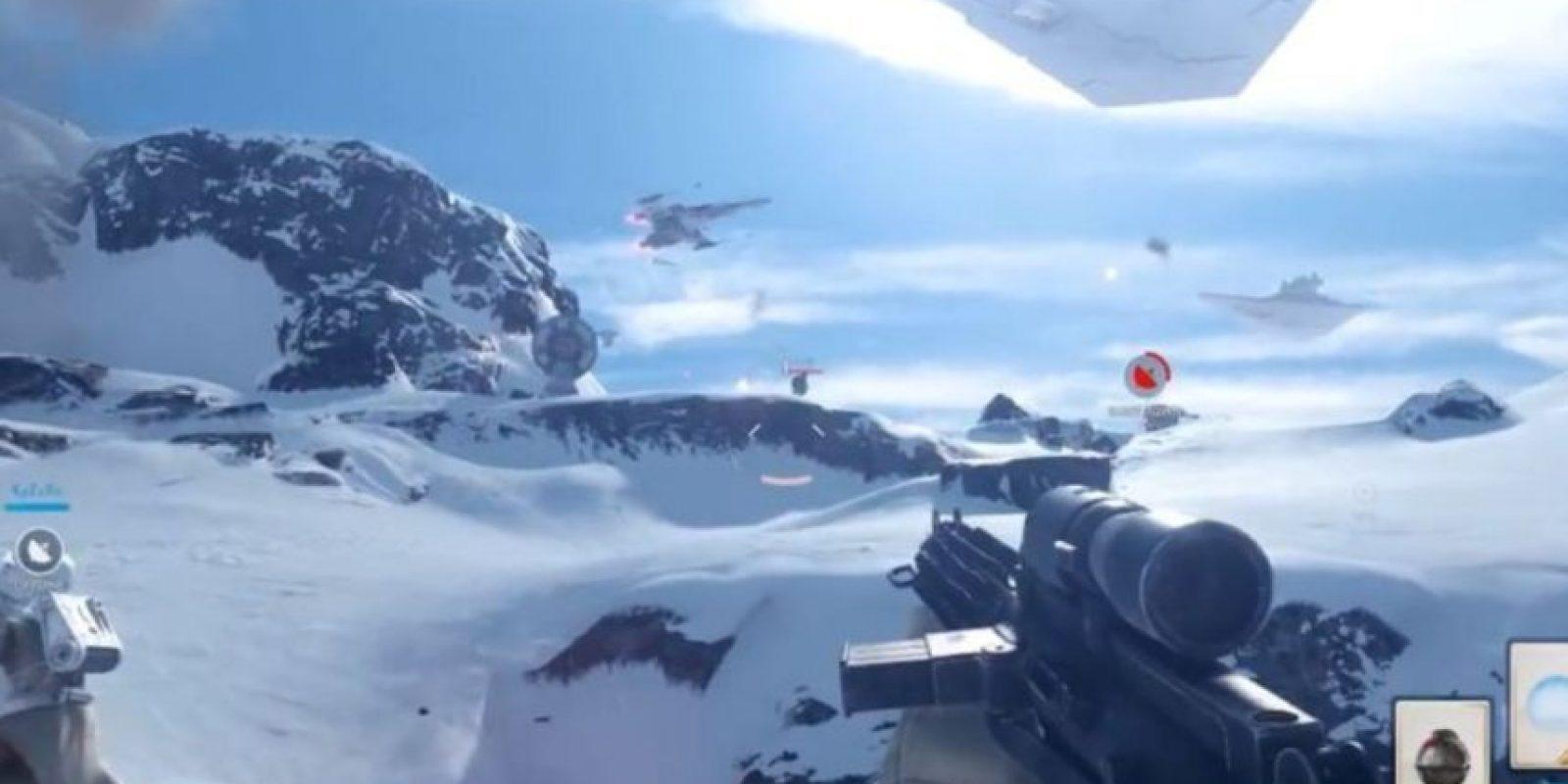 """Serán parte del imperio o de lo rebeldes, enfrascados en una verdadera guerra cósmica entre """"Jedis"""" y """"Siths"""". Foto:Electronic Arts"""
