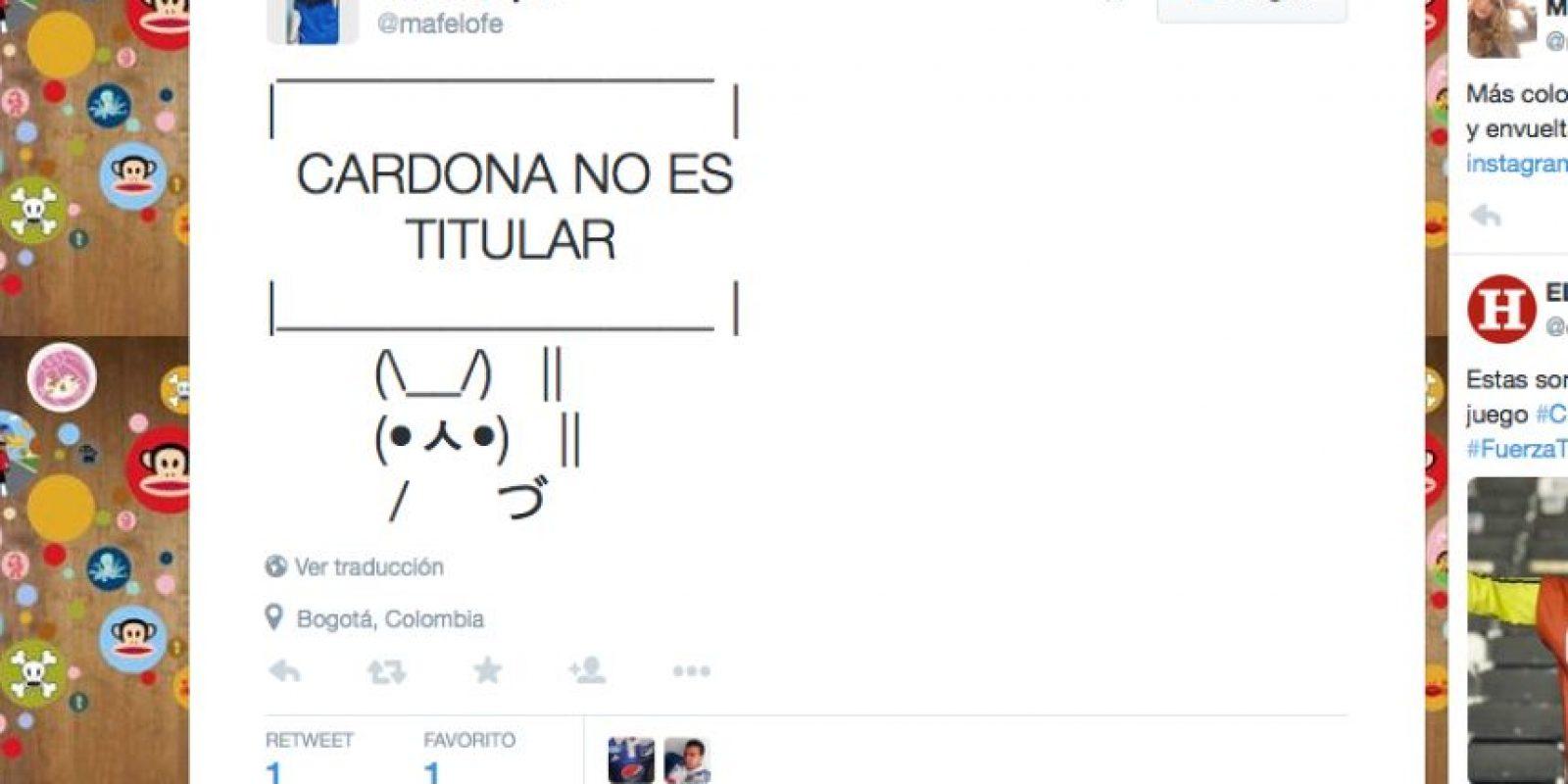 Foto:Captura de pantalla Twitter.