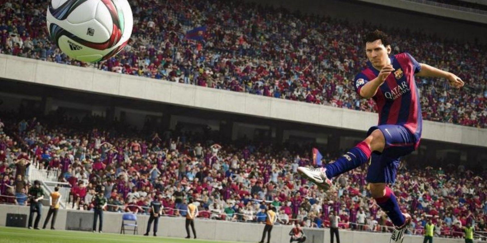 Ya no deberán volar el balón debido a que la colocación del pie y el tobillo de los futbolistas permiten un mejor golpeo del balón con potencia y precisión. Foto:EA Sports