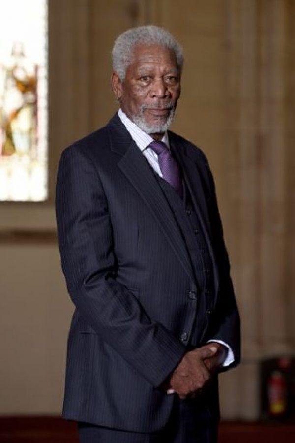 3. Morgan Freeman Foto:Getty Images
