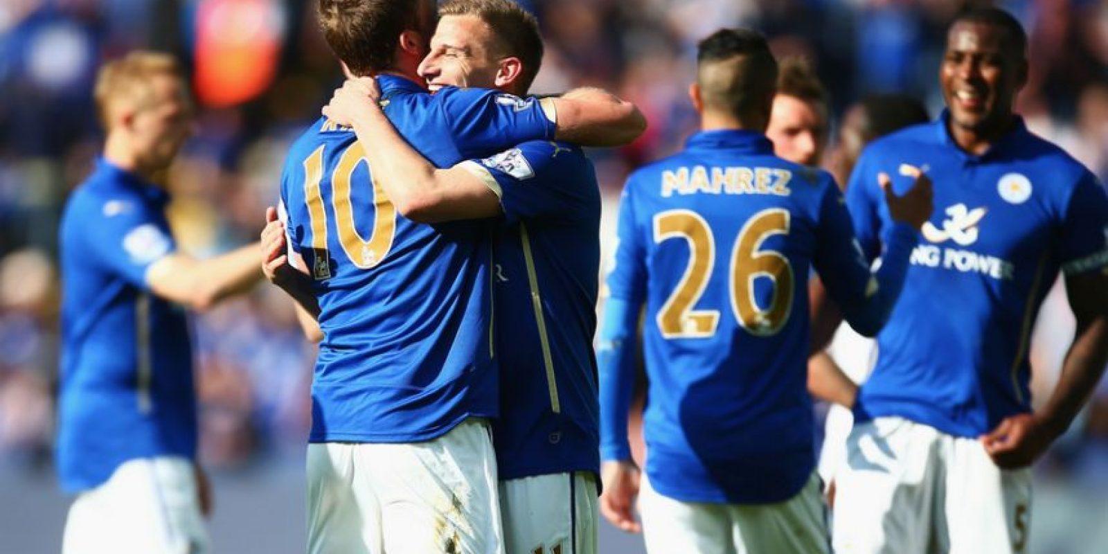 Leicester City dio una resolución contundente al escándalo sexual que protagonizaron tres de sus futbolistas a principios de mes. Foto:Getty Images