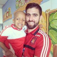 Con 25 años, es el guapo portero de Venezuela. Foto:Vía Twitter.com/AlainBaroja