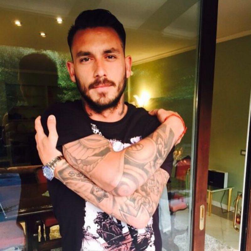"""Mauricio Pinilla es una figura en Chile (""""Era gol de Pinilla""""), pero fuera de su país las aficionadas no lo conocían tanto. Foto:Vía instagram.com/pinigol9"""
