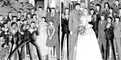 Pero como se vio en el manga, esto nunca pasó. Foto:vía Shueisha