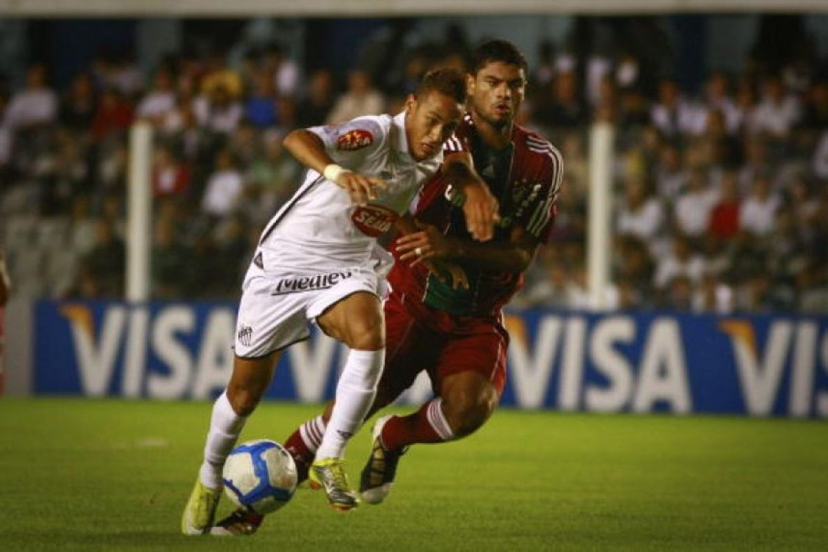 1. Contra Fluminense en 2011 Foto: Getty Images