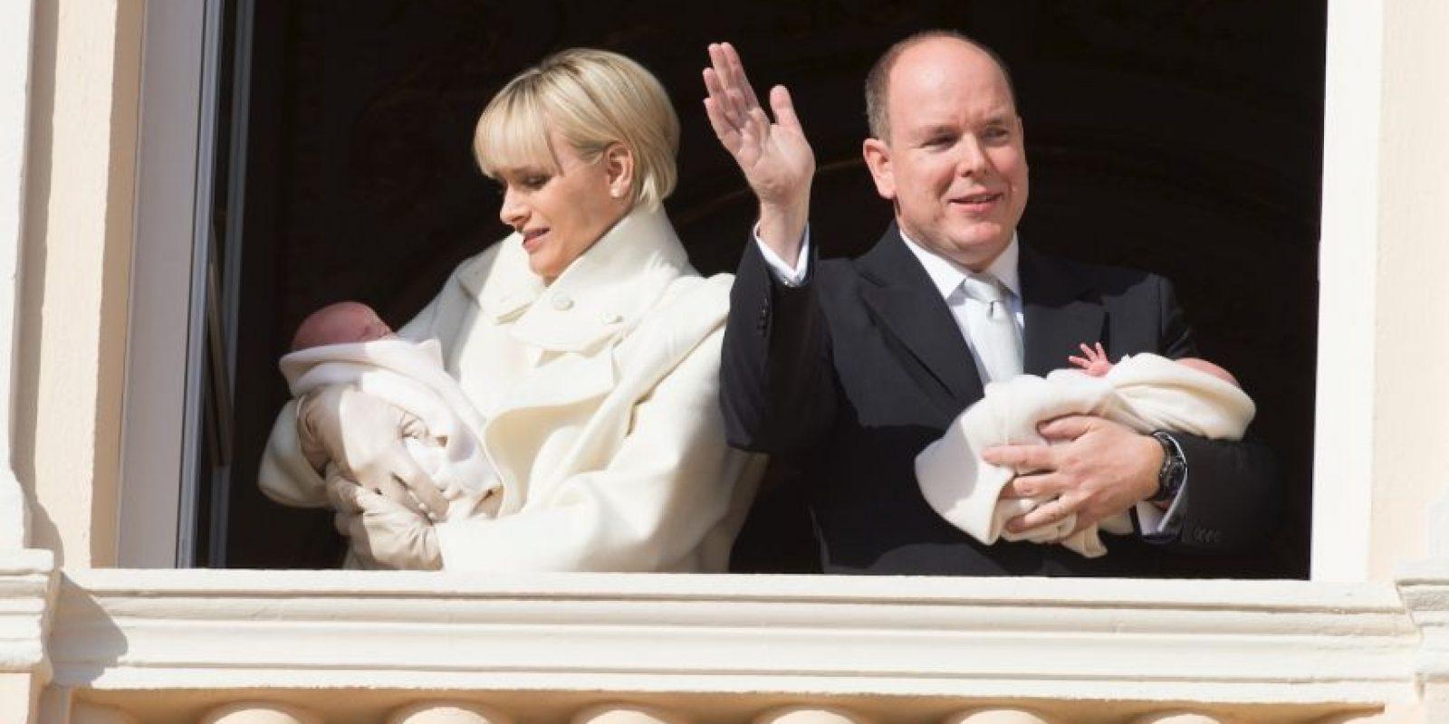 En diciembre del 2014, el príncipe Alberto II de Mónaco se convirtió en padre de los gemelos Gabriella Thérpese Marie y Jacques Honoré Rainier. Foto:Getty Images