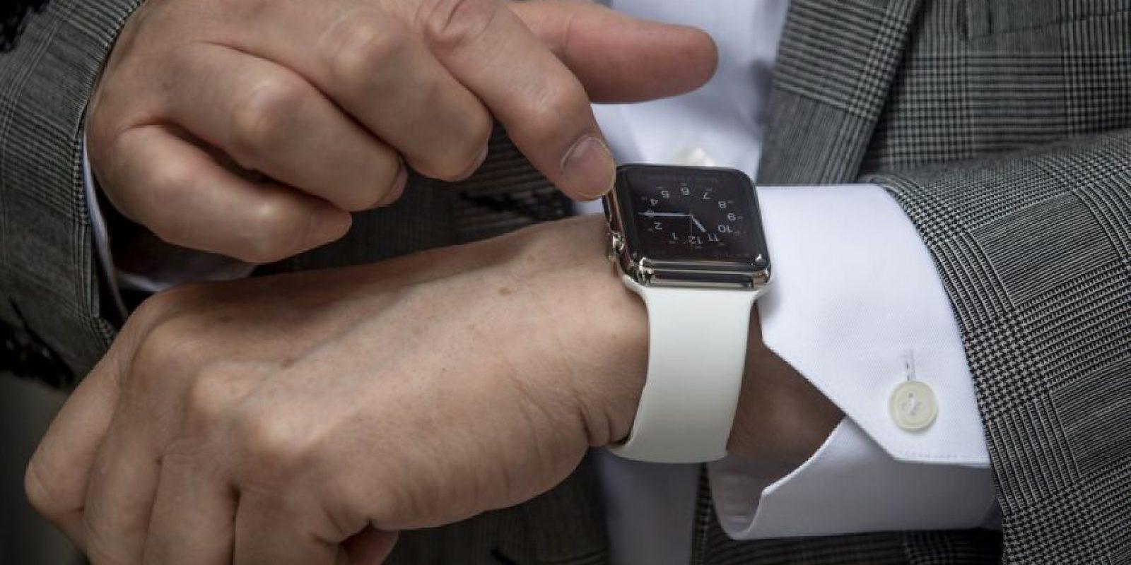 """El Apple Watch 2 parecerá un dispositivo digno del """"Agente 007"""" con una cámara para videollamadas y selfies Foto:Getty Images"""