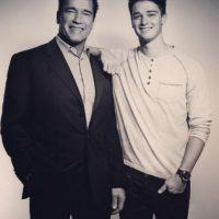 """¿El ex novio de Miley Cyrus podría ser el siguiente """"Terminator""""? Foto:vía instagram.com/patrickschwarzenegger"""