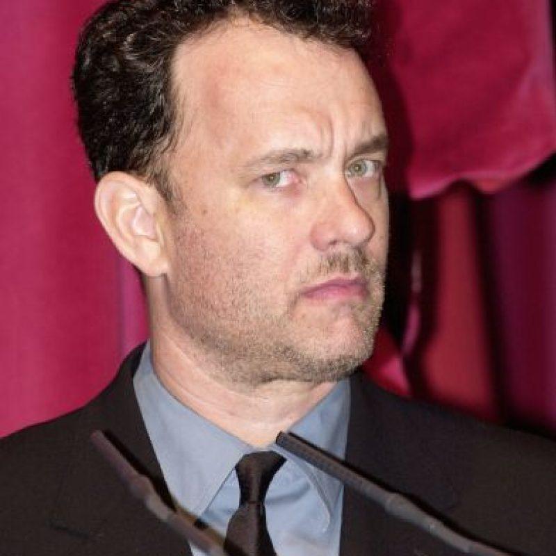 Y este es su padre, Tom Hanks hace algunos años. Foto:Getty Images