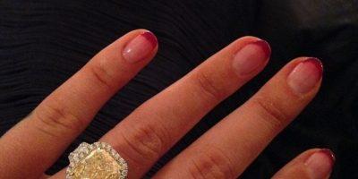 El anillo que el basquetbolista regaló a su novia está valorado en 500 mil dólares. Foto:vía instagram.com/thenewclassic