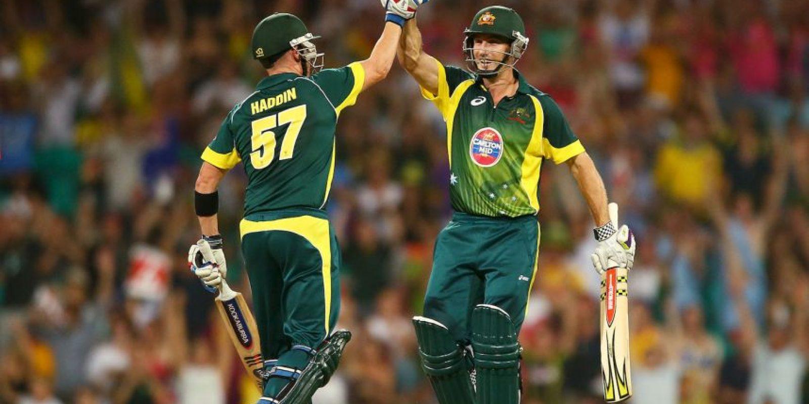 Los australianos aman el cricket. Australia es la vigente campeona mundial de criket y ya lo ha sido en cinco ocasiones, y fue tanta la efervescencia, que el título fue celebrado en las calles del país de Oceanía. Foto:Getty Images
