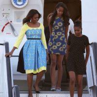 La gira de las hijas Obama en Europa. Foto:Getty Images