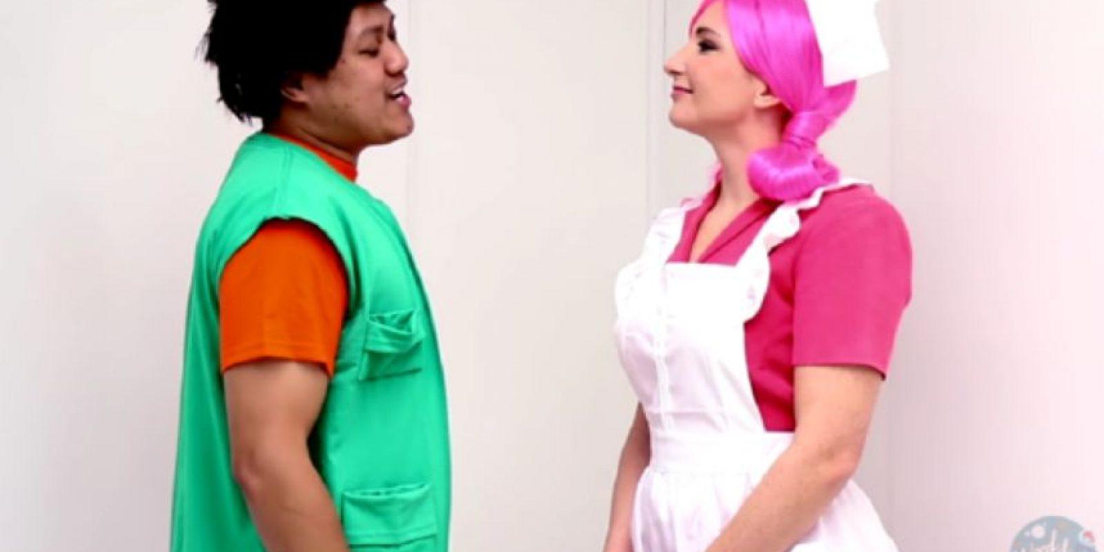 Acá, los dos. Foto:vía Youtube/Woodrocket Productions
