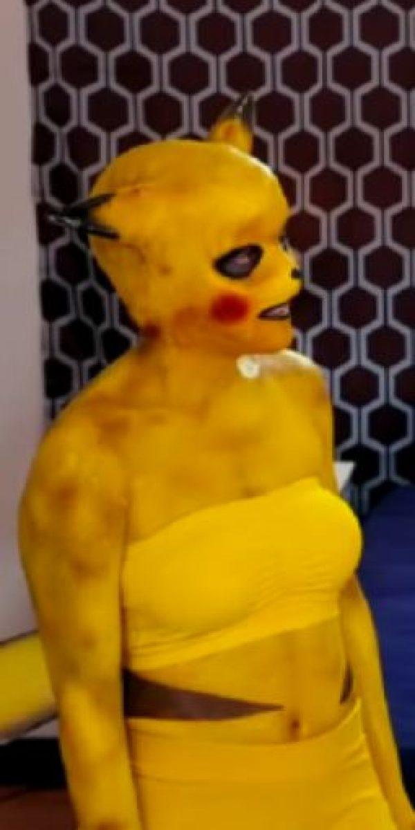 """""""PIKA"""" """"PIKA"""" con grandes pechos. Foto:vía Youtube/Woodrocket Productions"""