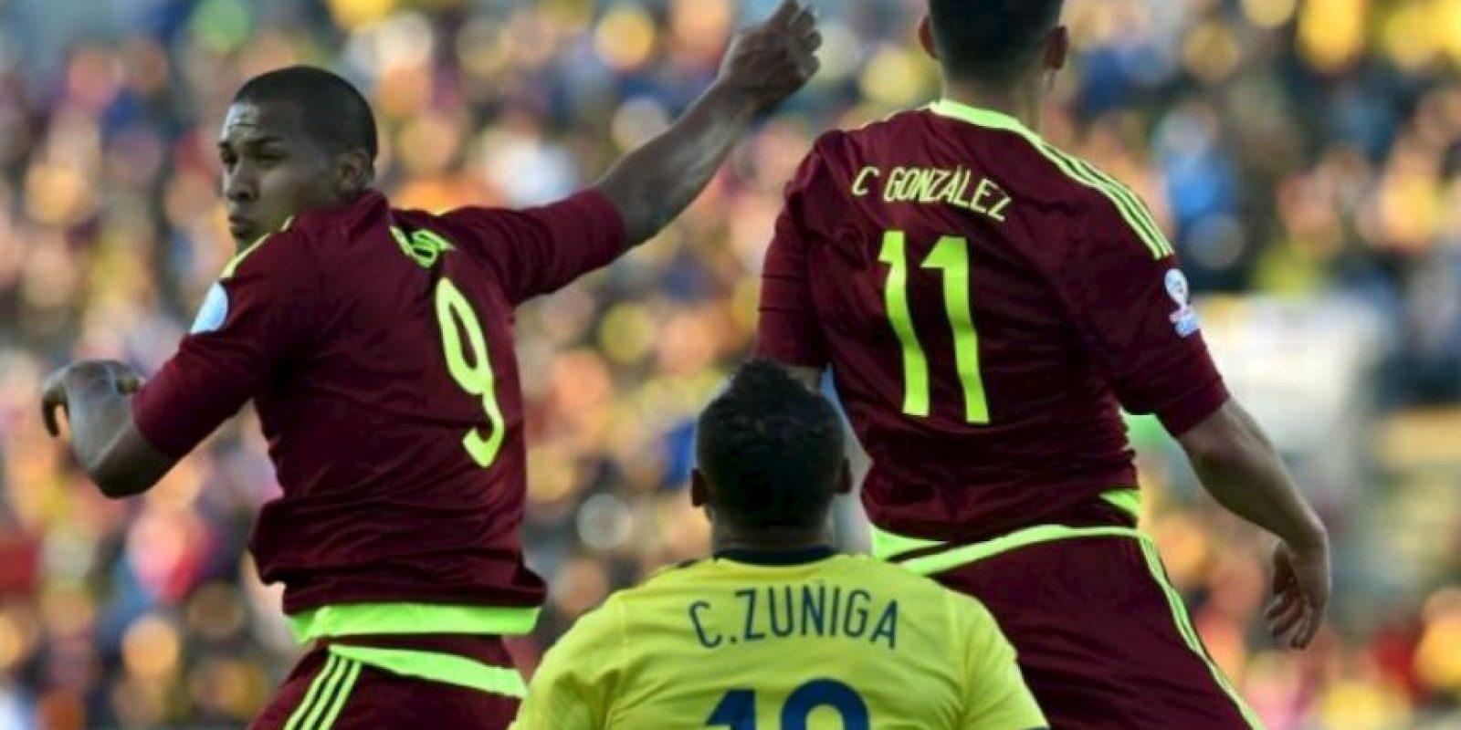 Venezuela supera a Colombia Foto:AFP