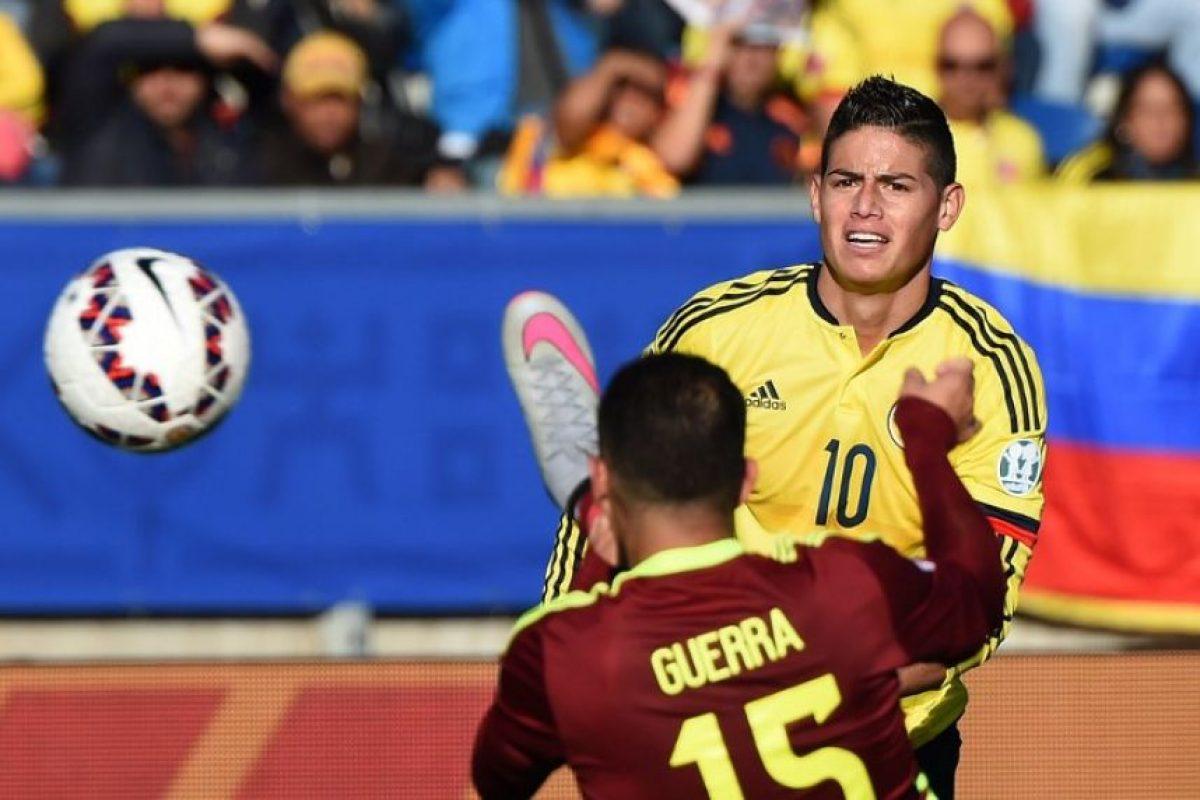 Los venezolanos se quejaron del arbitraje del uruguayo Andrés Cunha, a pesar de que vencieron 1-0 a Colombia Foto:AFP