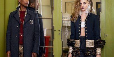 """""""Ella todavía lucha"""", confesó Cara a Vogue. Foto:vía Facebook/Cara Delevingne"""