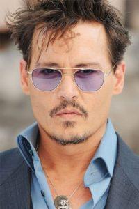 Lily Rose y John Depp no tienen queja de su talentoso y seductor padre. Foto:Getty Images