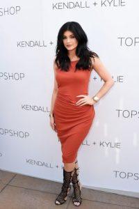 Y aquí la propuesta de Kylie Foto:Getty Images