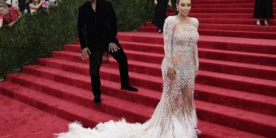 Kim Kardashian es fiel a las transparencias Foto:Getty Images