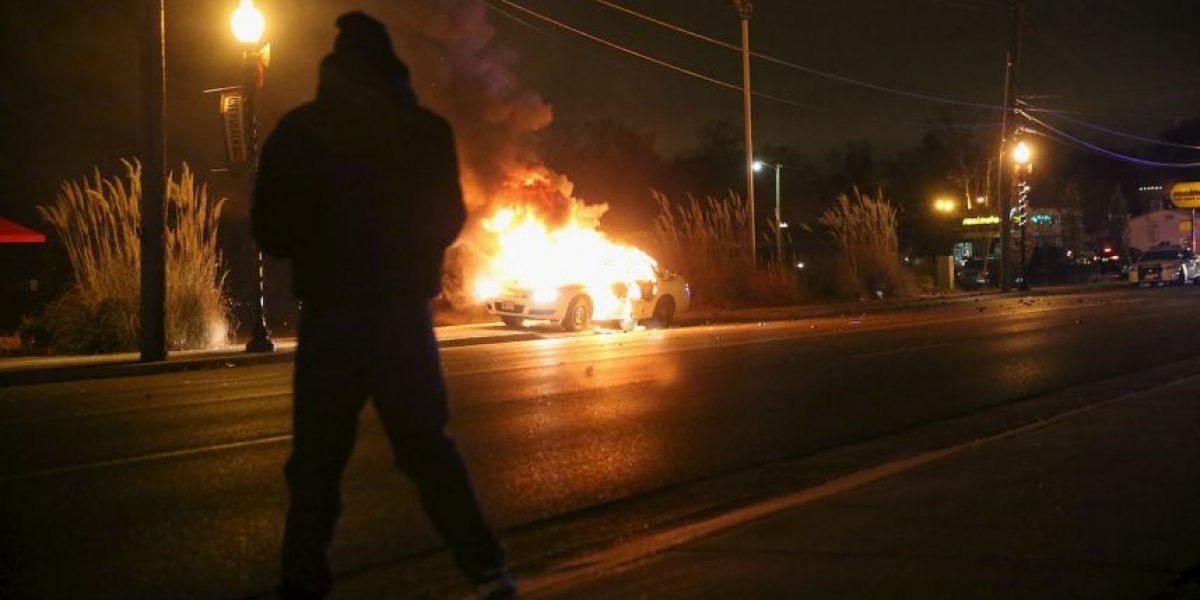 Intentó quemar un auto y esto fue lo que pasó