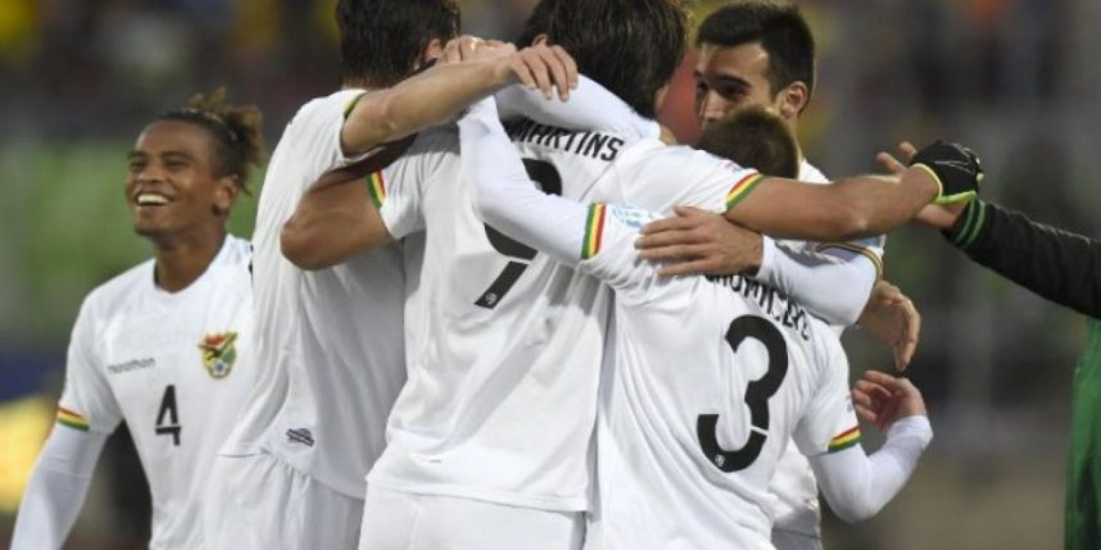Bolivia terminó en segundo lugar del Grupo A y jugará con el segundo lugar del sector C. Foto:AFP