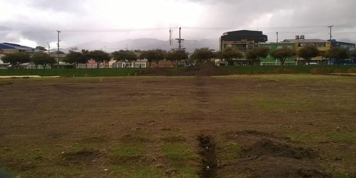 Remodelación al espacio más importante del fútbol aficionado de Engativá