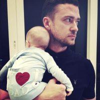 Justin Timberlake presumió a su pequeña Foto:vía instagram.com/justintimberlake