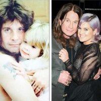 Kelly compartió un antes y después de su papá Ozzy Osbourne. Foto:vía instagram.com/kellyosbourne