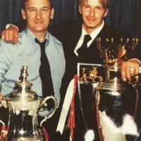 Y también recordó a su papá David Edward Alan Beckham. Foto:vía instagram.com/davidbeckham