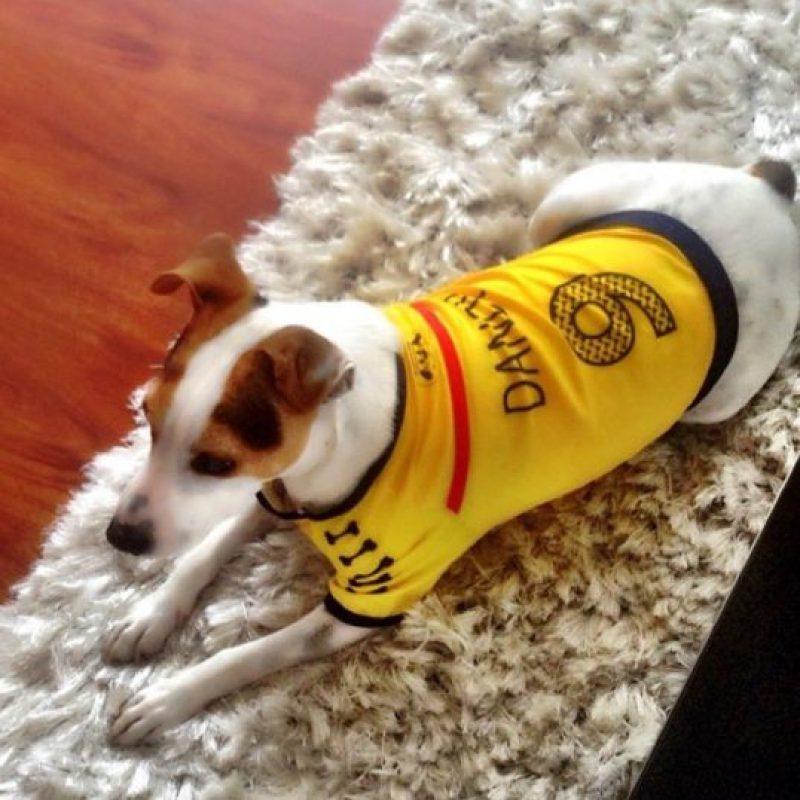 Carolina Cruz publicó una foto de su perro
