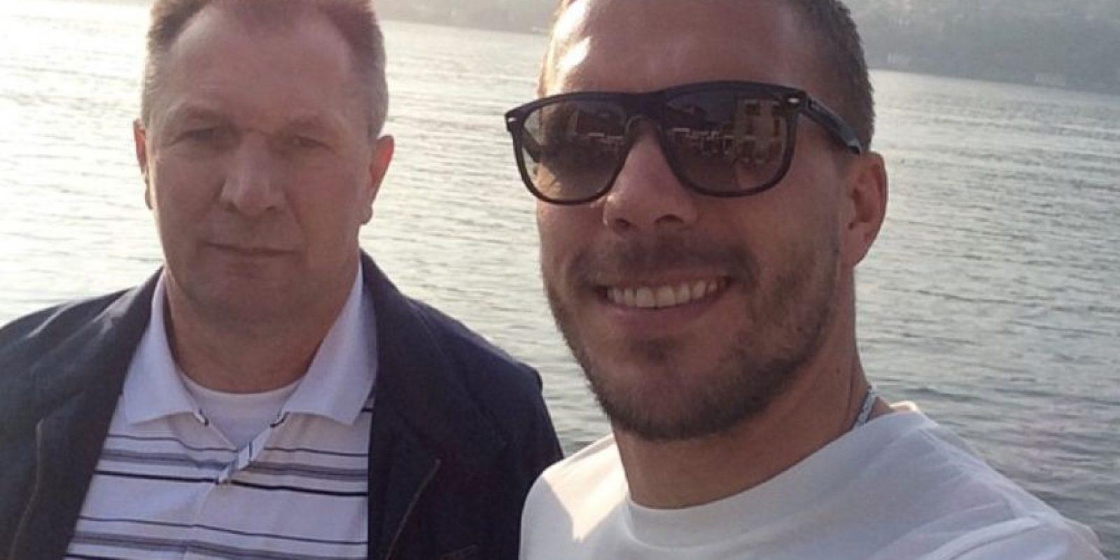 El alemán Lukas Podolski Foto:Vía instagram.com/poldi_official