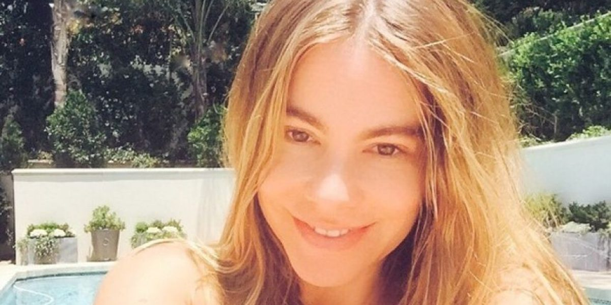 Sofía Vergara se muestra al natural y sin maquillaje