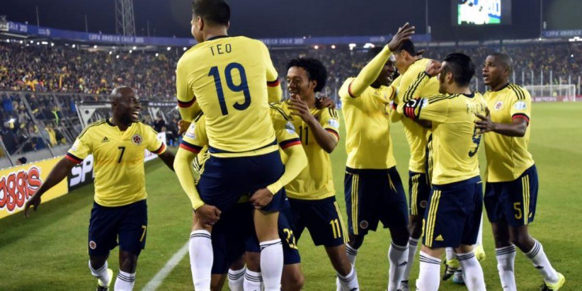 Un colombiano en el 11 ideal de primera ronda en Copa América
