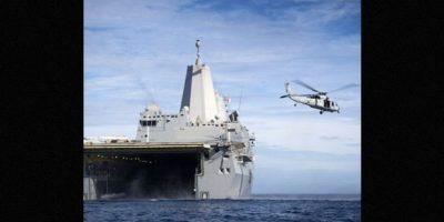 """""""Utilizamos este arma en particular a través de pruebas muy difíciles y nos aseguramos de que su letalidad es casi instantánea"""", concluyó el almirante Matthew Klunder Foto:Instagram.com/USNavy"""