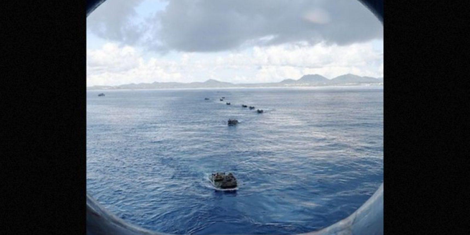 """""""El sistema de armas láser aporta nuevas capacidades significativas a los marinos e infantes de Marina de Estados Unidos"""", se lee en el comunicado oficial Foto:Instagram.com/USNavy"""
