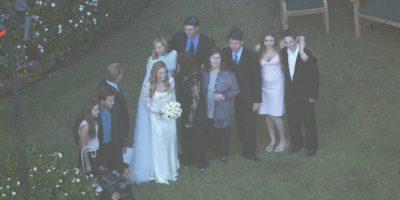 La ceremonia se realizó en secreto Foto:Getty Images
