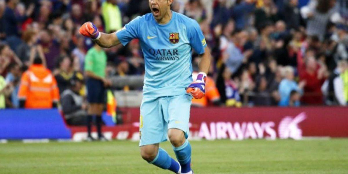 Claudio Bravo habría demandado al Barcelona por 1.3 millones de euros